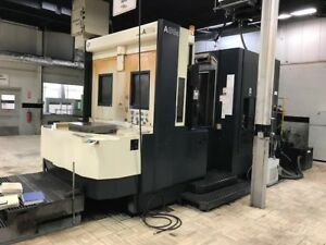 2003 Makino Model A88 Cnc 4 axis Horizontal Machining Center Video