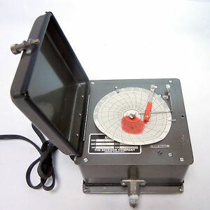 Dickson 3blx Chart Recorder Circular Paper Data Acquisition Logger Air Pressure