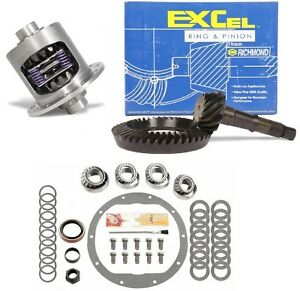 1965 1971 Chevy Gm 8 2 4 11 Excel Ring And Pinion Duragrip Posi Gear Pkg