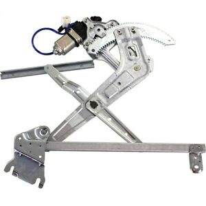 Power Window Regulator For 2003 2008 Subaru Forester Front Left Side With Motor