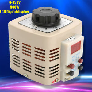 0 250v 2a 500w Ac Variable Digital Voltage Regulator Transformer Power Supplies