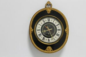 Antique Old Big Massive Charming Wall Clock Russian Qntar