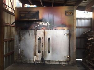 Southern Pride Model 1400 Slse Gas wood fired Commercial Barbecue Oven