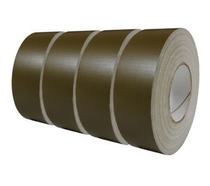 100mph Tape 4 pack Olive Drab Usgi Military Spec Waterproof 2 In X 60 Yd Roll
