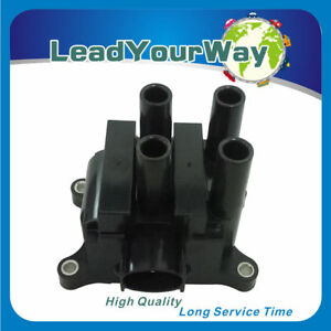 1 Piece Ignition Coil For 2002 2003 Ford Focus Ztw Wagon 4 Door 2 0l L4