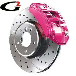 Pink G2 Brake Caliper Paint Epoxy Style Kit High Heat Made In Usa Free Ship