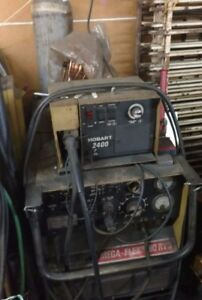 Hobart Mega flex 450 Rvs Mig Welder 2400 with Wire Feed