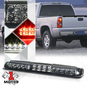 Smoke Tinted Led Third 3rd Brake Light Cargo Function For 99 07 Silverado Sierra