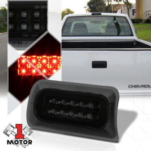 Black Smoke Rear Led Third 3rd Brake Light For 94 03 Chevy S10 Sonoma Hombre