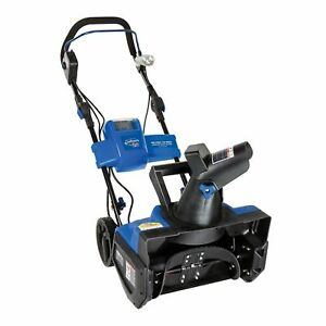 Snow Joe Ion 40 Volt Battery Powered Cordless 18 Inch Single Stage Snow Blower