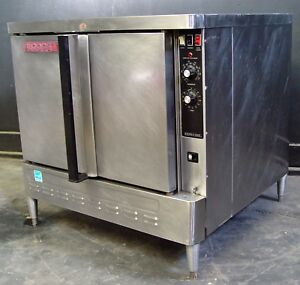 Blodgett Zephaire Gas Convection Oven set Up For 26 Inch Trays