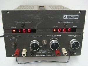Lambda Lqd 422 Dual Regulated Power Supply Digital Screen 0 40v 1a Output