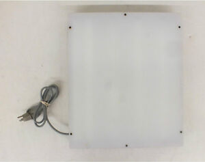 Laboratory Supplies Company Fluorescent X ray Light Box 16x18 5 One Bulb Out