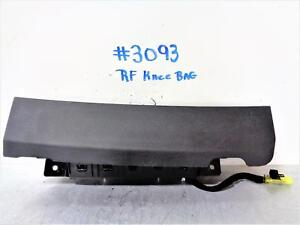 2014 Chevrolet Cruze Rs Passenger Front Knee Air Bag With Black Cover 13 14 15