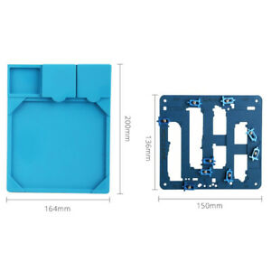 Circuit Board Pcb Holder Work Station With Heat Insulation Pad Fixed Fixture