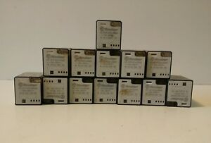 Lot Of 13 Finder 60 13 9 024 0060 Relay