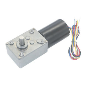 Dc12v 24v 5840 Brushless Motor Turbo Worm Gear Motor With Full Metal Gearbox