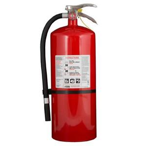 Fire Extinguisher Dry Chemical Class Abc Multipurpose Safety Protection Bracket