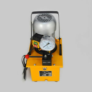 63mpa Electric Driven Hydraulic Pump With Single Acting Manual Valve 110v