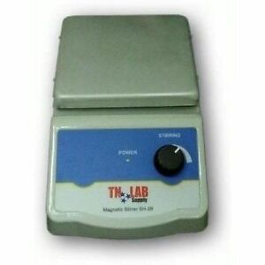 Tn Lab Supply Magnetic Stirrer With Heater 120mm case Of 4 Ships From Usa