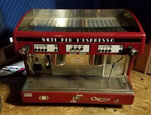 Astoria Automatic Espresso cappuccino Machine With Extras Complete Setup