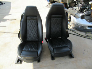2005 Bentley Continental Gt Coupe Front And Rear Seats