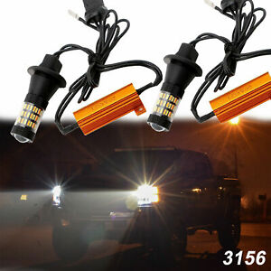 Kit For F 150 F 250 Convert To Switchback Turn Signal Daytime Running Canbus Led