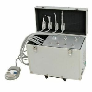 Dental Delivery Unit With Air Compressor Suction System Triplex Syringe 4h