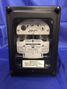 General Electric Ge 700x63g1 2 Stator Watthour Meter Ds 63