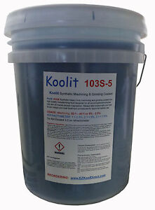 5 Gal Synthetic Cnc Coolant 2x Concentration So Use 1 2 As Much As Normal Blue