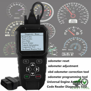 Mileage Adjustment Odometer Correction Tool Obd Diagnostic Scanner Obdprog Mt401
