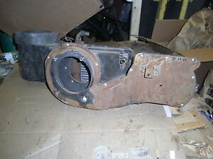 1969 1970 Mercury Cougar Mustang Heater Box Duct Heat Assembly Parts Project Fix