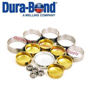 New Performance Cam Bearings Brass Freeze Plugs Chrysler 383 400 413 426 440