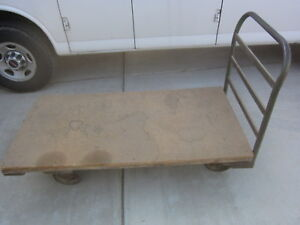 30 x60 12 Height Platform Cart Hand Truck Dolly Used