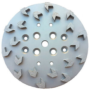 10 Diamond Concrete Grinding Disc Head Arrow Segment Fits Edco Floor Grinder