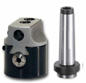Boring Head 2 Mt2 Shank For Milling Machines