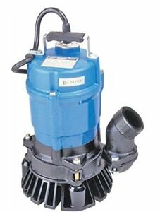 Tsurumi Hs2 4s 62 Semi vortex Submersible Trash Pump With Agitator 2 1 2 Hp