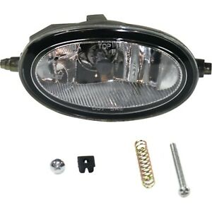 Clear Lens Fog Light For 98 07 Honda Accord Rh Glass Lens W Bulb