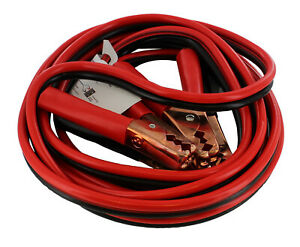 Abn Booster Cables Large Battery Booster Jumper Cables With Case