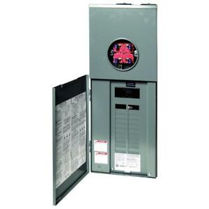 Combination Load Center Outdoor Overhead Service 200 Amp 20 space 40 circuit
