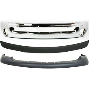 Bumper Cover Kit For 2002 2005 Dodge Ram 1500 Front With Bumper Trim 3pc
