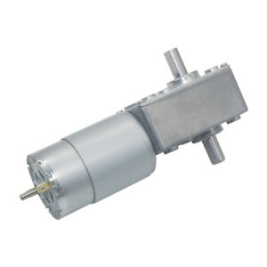 12v 24v 5840 555s Dual Shaft Turbo Worm Speed Reduction Gear Motor With Gearbox
