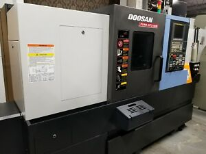 Doosan Puma Gt 2100m 3 axis Turning Center With Live Milling C axis