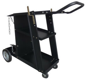 Deluxe Steel V3 Mig Welding Cart For Mig Tig Plasma Machine Fits Welder
