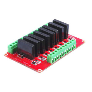 8 way High Level Trigger Solid State Relay Module 240v 2a 12v For Arduino