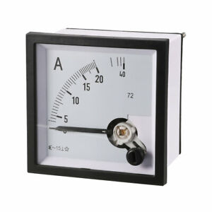 Cp 72 Class 1 5 Accuracy Ac 0 20a Analog Panel Meter Ammeter Amperemeter