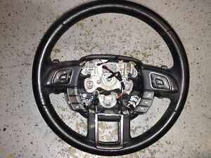 14 15 Range Rover Evoque Steering Wheel Switch With Shifter Pedals Heated Oem