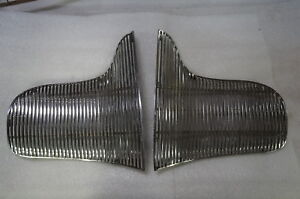 1939 Buick Original Two Piece Car Grille Grill Oem Wow Nice