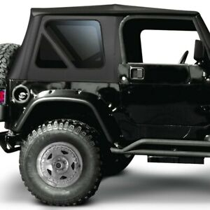 For Jeep Wrangler 1997 2006 Rampage 68835 Black Diamond Complete Soft Top