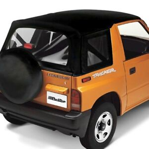 For Chevy Tracker 99 04 Bestop 51366 01 Replace A Top Black Crush Soft Top